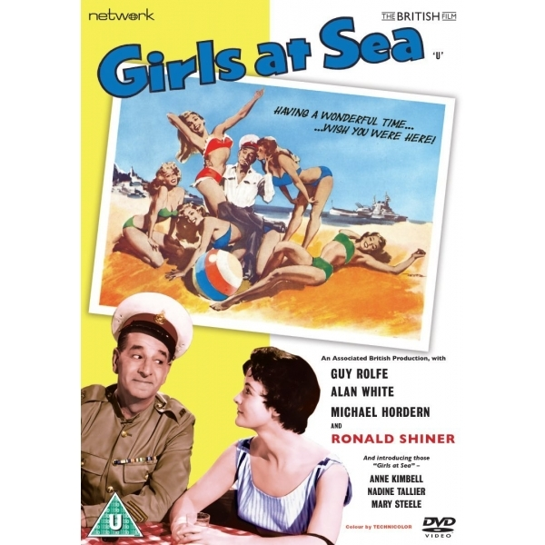 Girls At Sea DVD