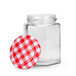 Set of 24 Hexagonal Mouth Glass Jam Jars | M&W - Image 4
