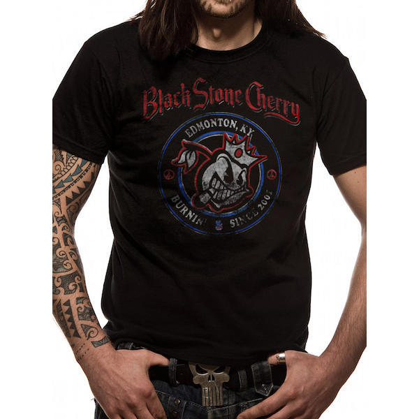 Blackstone Cherry - Since 2001 Men's Large T-Shirt - Black