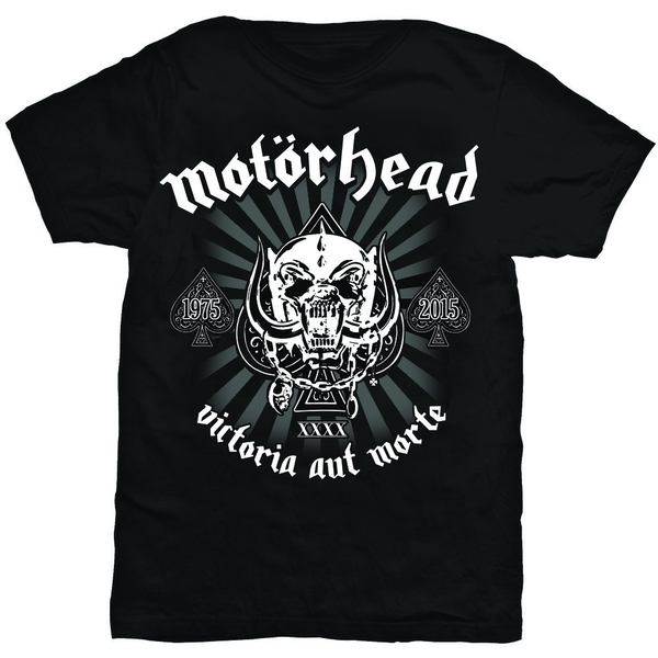 Motorhead - Victoria Aut Morte Unisex Medium T-Shirt - Black