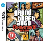 Grand Theft Auto GTA Chinatown Wars Game DS