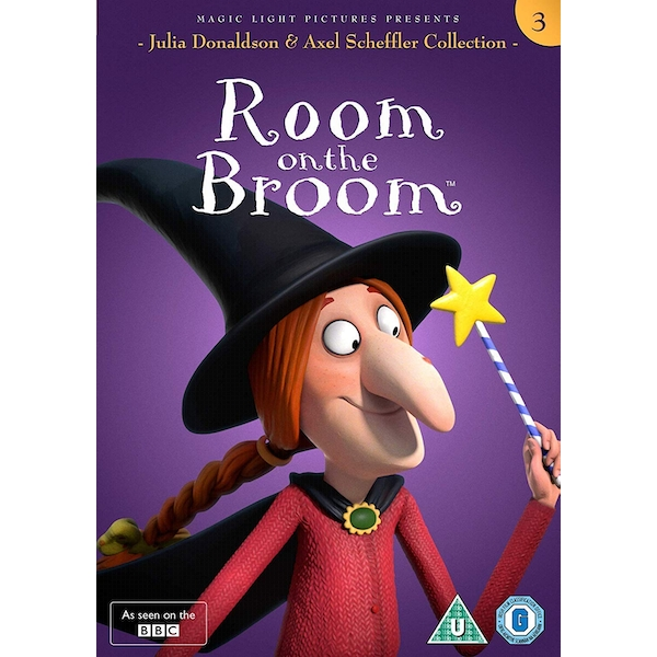 Julia Donaldson and Axel Scheffler Collection - Room on the Broom DVD