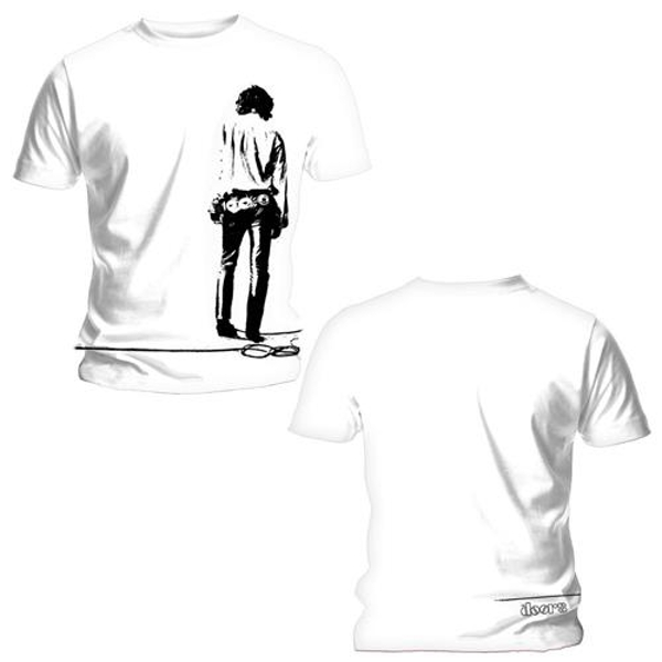 The Doors - Solitary Unisex Large T-Shirt - White
