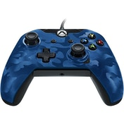 PDP Deluxe Wired Controller Blue Camo for Xbox One