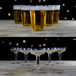 Party Drinking Pong Kit | Beer & Prosecco Glasses | Pukkr - Image 2