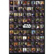 Star Wars Compilation Maxi Poster