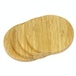 Bamboo Circle Placemats & Coasters | M&W - Image 3
