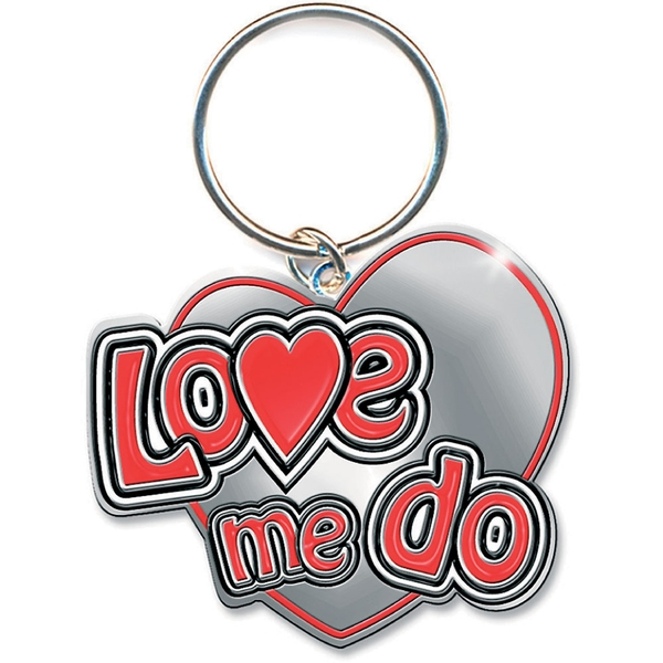 The Beatles - Love Me Do Keychain
