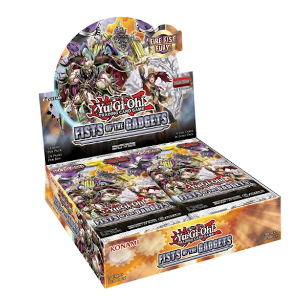 Yu-Gi-Oh! TCG Fist of the Gadgets Booster Box (24 Packs)
