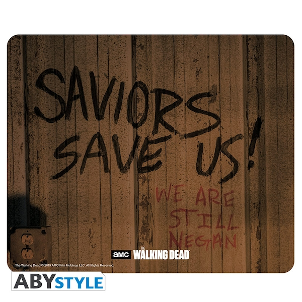 Image of The Walking Dead - Saviors Save Us Mouse Mat
