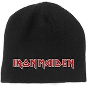 Iron Maiden - Logo Men's Beanie Hat - Black