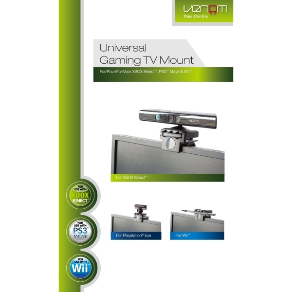 Universal Gaming TV Mount Xbox 360, PS3 & Wii - Image 1