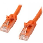 StarTech Cat6 Patch Cable with Snagless RJ45 Connectors 7 m Orange