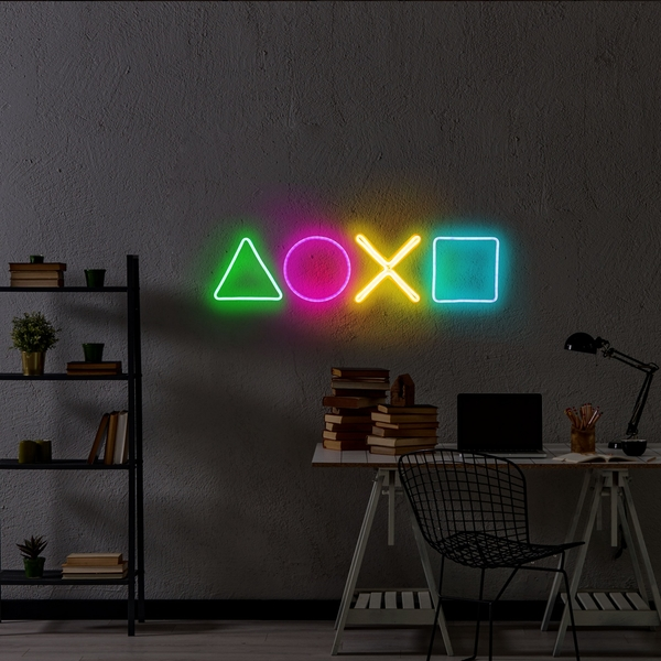 Play Station - Multicolor Multicolor Wall Lamp