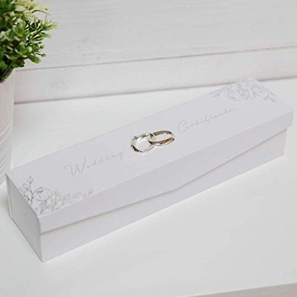 AMORE BY JULIANA? Foil Embossed Wedding Certificate Holder