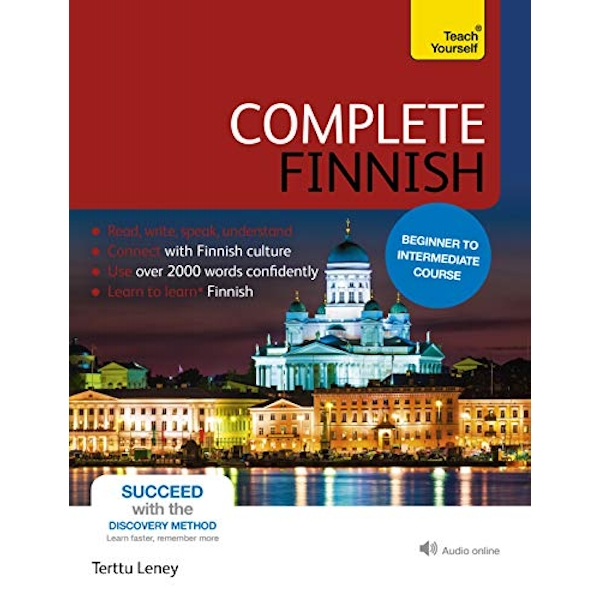 Complete Finnish Beginner to Intermediate Course (Book and audio support) Mixed media product 2013
