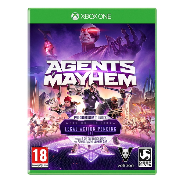 Agents Of Mayhem Day One Edition Xbox One Game - Image 1