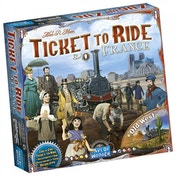 Ticket To Ride France & Old West Map Collection Board Game