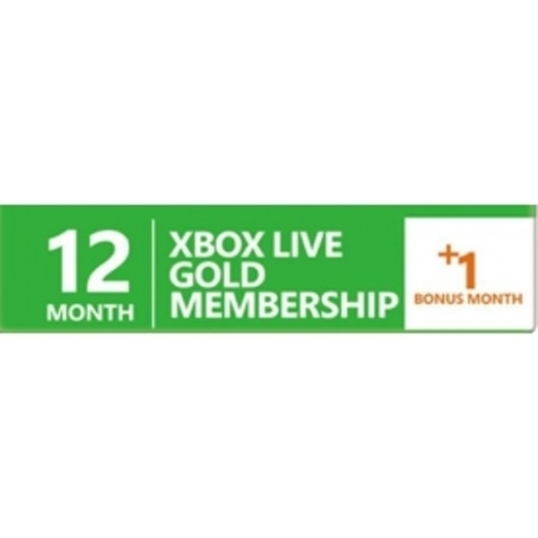 12 + 1 Month Xbox Live Gold Prepaid Subscription Card Key