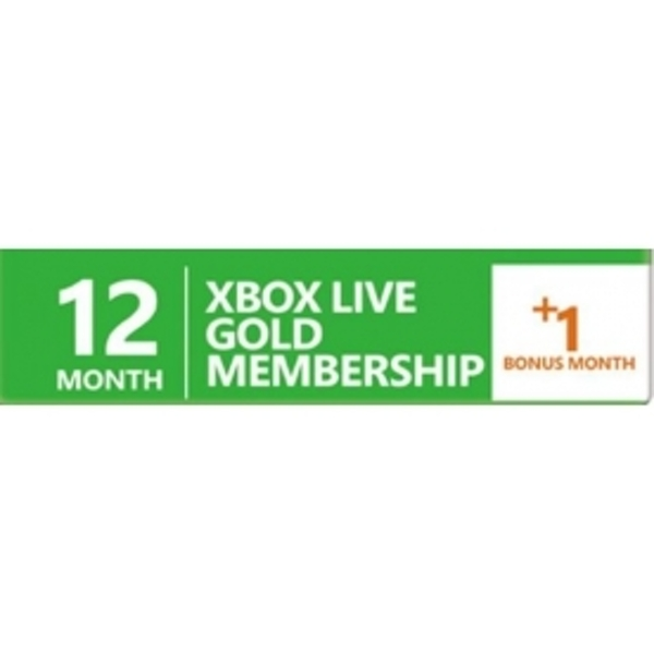 12 + 1 Month Xbox Live Gold Prepaid Subscription Card Key Xbox 360 & One - EBAY