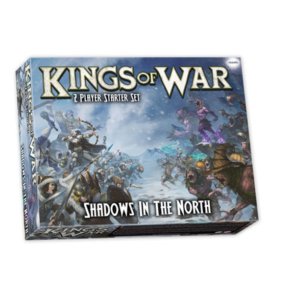 Kings of War 3rd Edition Shadows in the North: 2-Player Starter Set