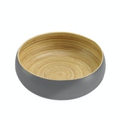 Bamboo Serving Bowl | M&W Small Grey