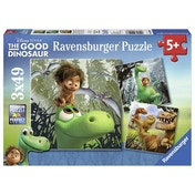 The Good Dinosaur Puzzle 3 x 49-Piece