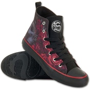 Blood Rose Women's Size 4 UK (37 EU) High Top Laceup Sneakers