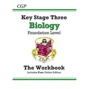 KS3 Biology Workbook - Foundation by CGP Books (Paperback, 2014)