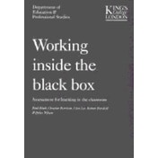 Working Inside the Black Box: Assessment for Learning in the Classroom by Bethan Marshall, Dylan Wiliam, Clare Lee, Christine Harrison, Paul Black (Paperback, 2004)