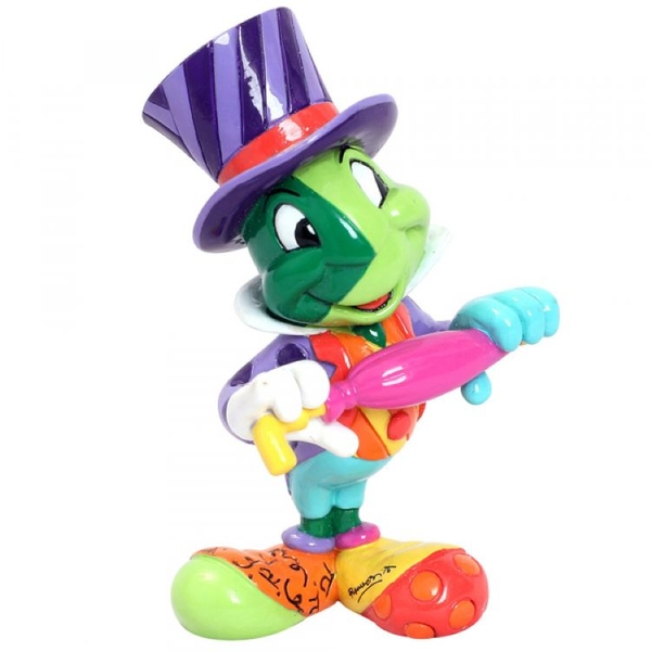 Jiminy Cricket (Pinocchio) Disney Britto Mini Figurine