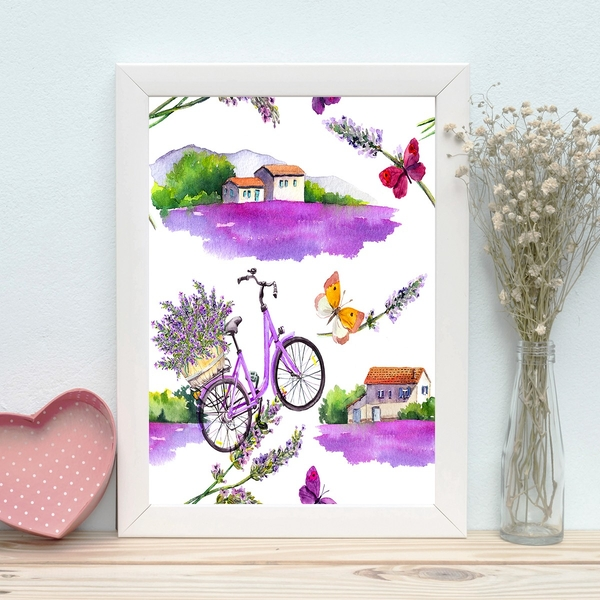 BC1040442349 Multicolor Decorative Framed MDF Painting