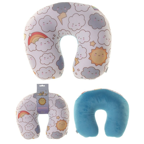 Kawaii Weather Design Handy Travel Pillow