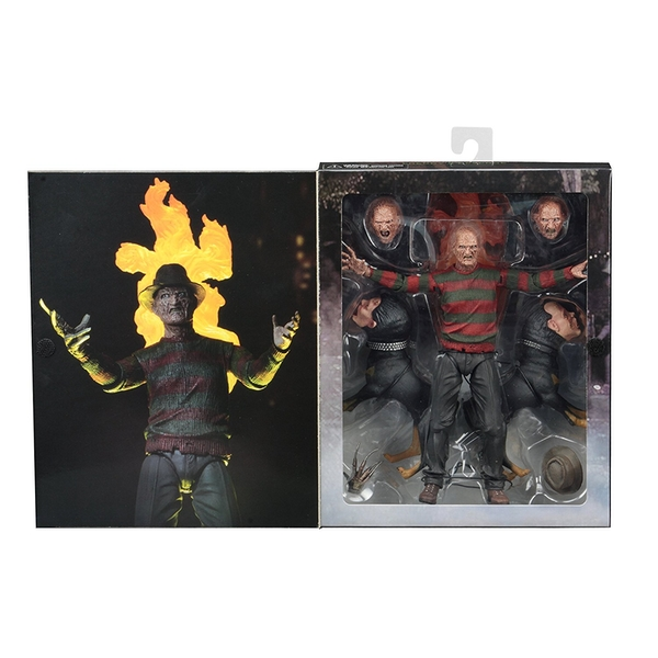 Ultimate Freddy Krueger (Nightmare On Elm Street Part 2) Neca 7 Inch Action Figure
