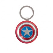 Official Marvel Avengers Captin America Shield Pewter Keyring