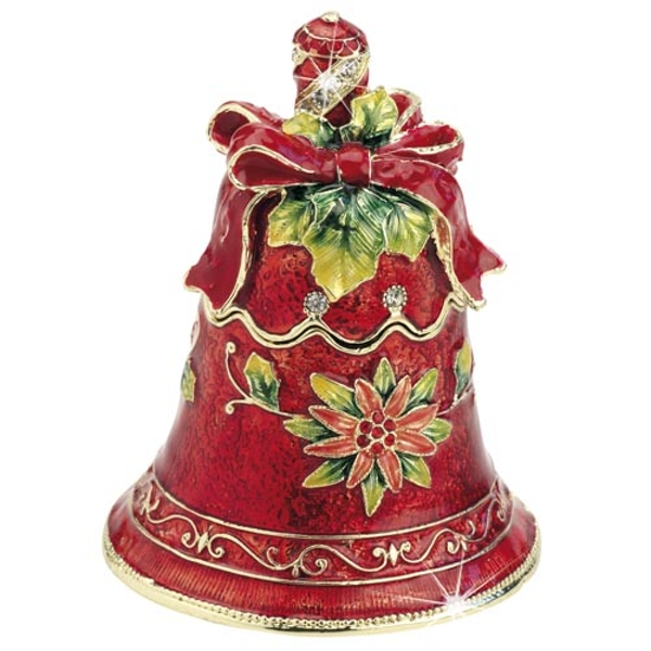 Craycombe Trinkets Red Christmas Bell