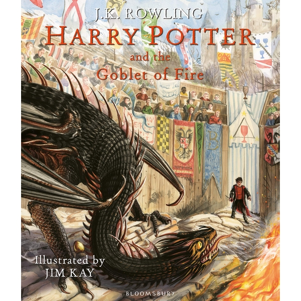 Harry Potter and the Goblet of Fire: Illustrated Edition Hardcover - 8 Oct. 2019