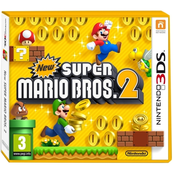 New Super Mario Bros 2 Game 3DS - Image 1