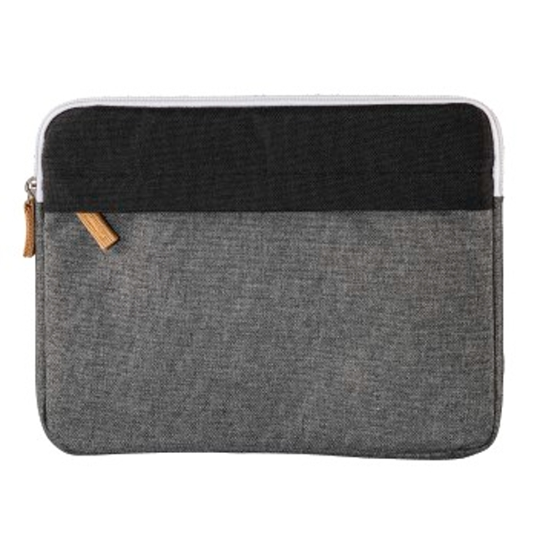 "Hama ""Florence"" Notebook Sleeve, up to 25.6 cm (10.1""), black/grey"