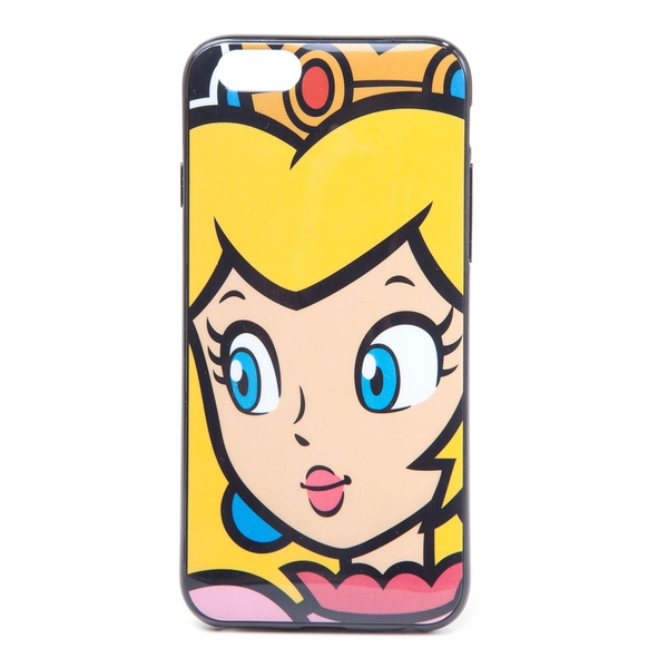 Nintendo - Princess Peach Face Apple Iphone 6 Phone Cover