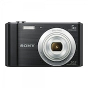 Sony DSC-W800 Camera Black 20.1MP 5xZoom 2.7LCD 720pHD 23mm Sony G Lens