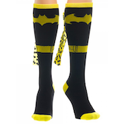 Batman - Yellow Logo Women's Socks - Yellow/Black (One size)