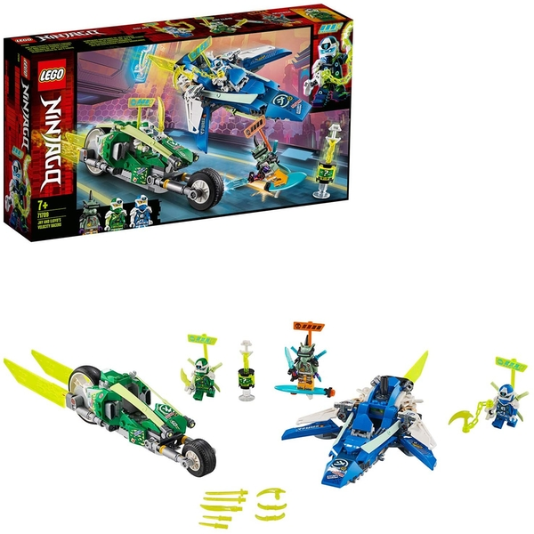 LEGO 71709 Ninjago Jay and Lloyd's Velocity Racers Set