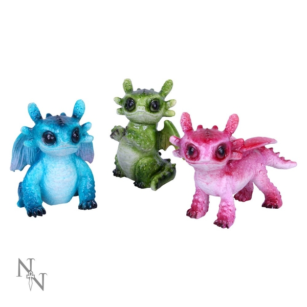 Tiny Dragons (Set Of 3) Figurines