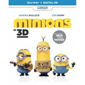 Minions Blu-ray 3D + Blu-ray + UV Copy