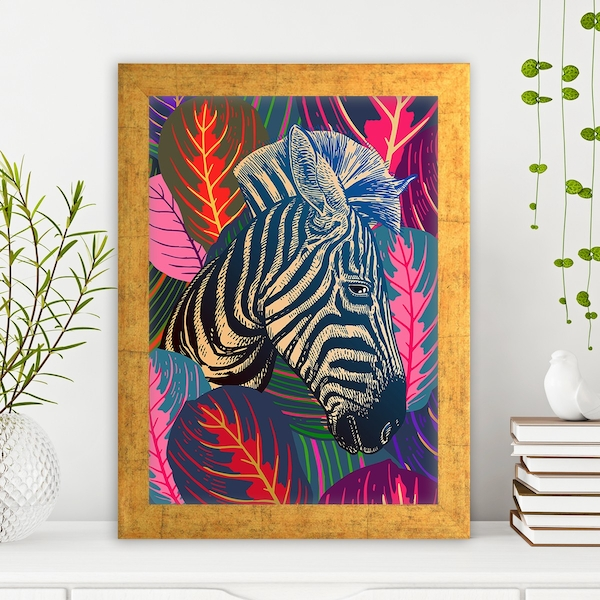 AC1262311195 Multicolor Decorative Framed MDF Painting