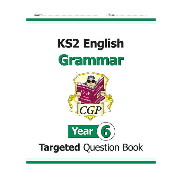 KS2 English Targeted Question Book: Grammar - Year 6 by CGP Books (Paperback, 2014)