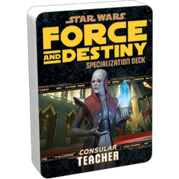Star Wars Force and Destiny: Teacher Specialization Deck