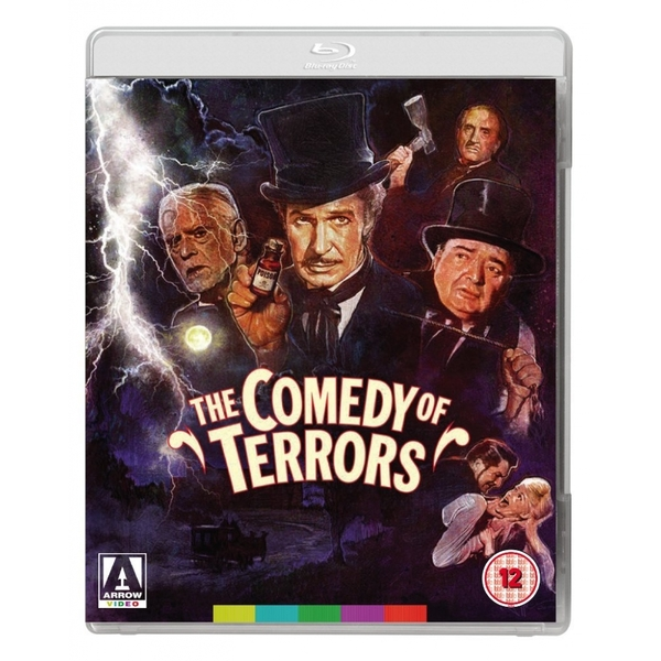 The Comedy of Terrors DVD & Blu-ray