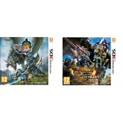 Monster Hunter 3 & 4 Ultimate Double Pack 3DS Game